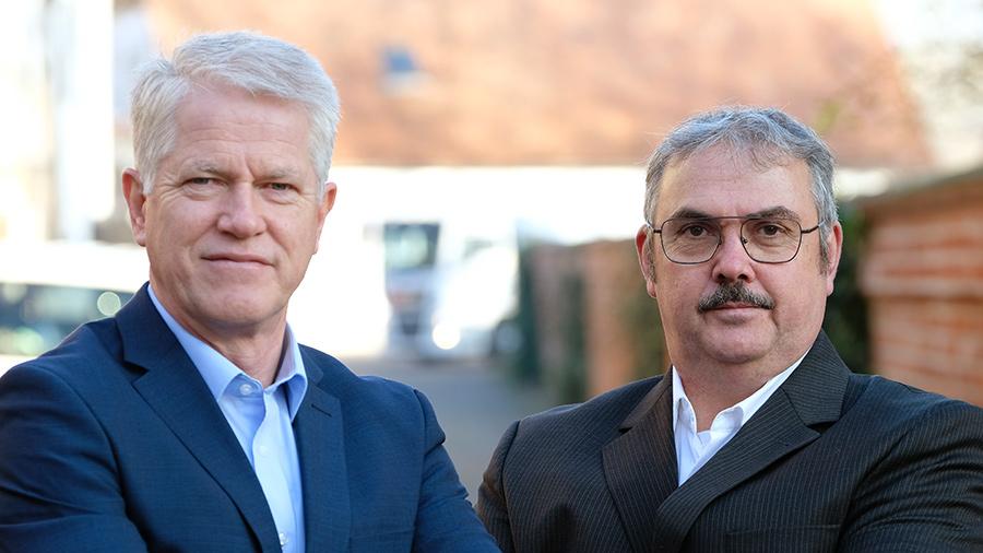 Wilfreid Sieweke, Geschäftsführer und Robert Lücke, Produktionsleiter
